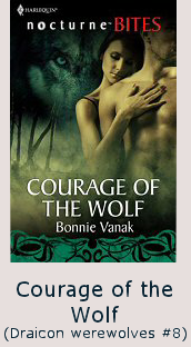 bonnie vanak's courage of the wolf