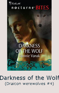 bonnie vanak's darkness of the wolf
