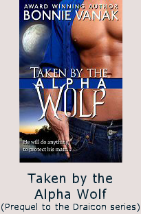 bonnie vanak's taken by the wolf